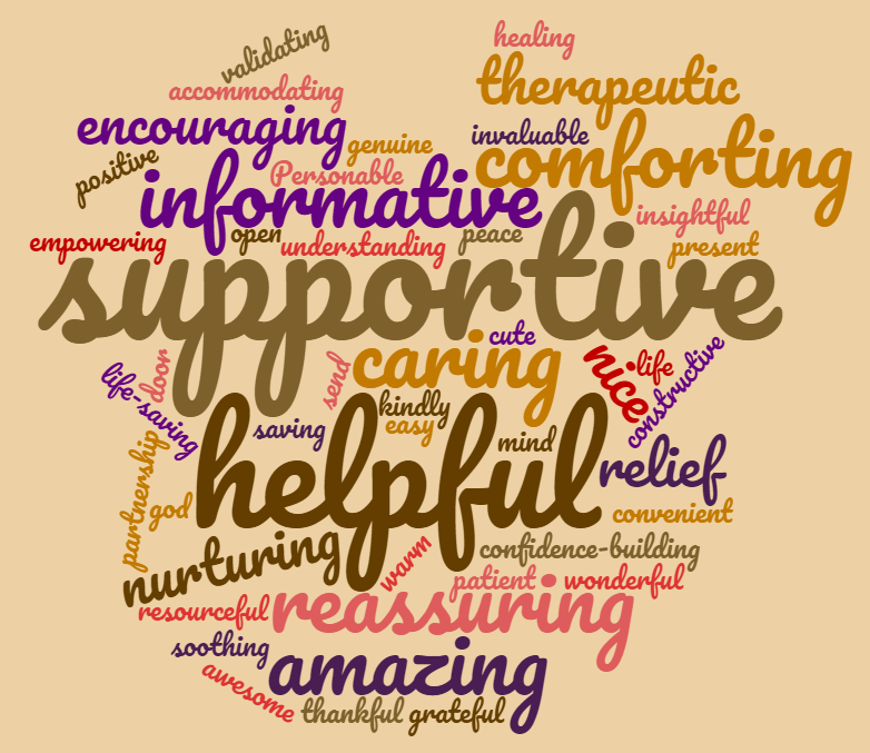 Family Feedback Word Cloud